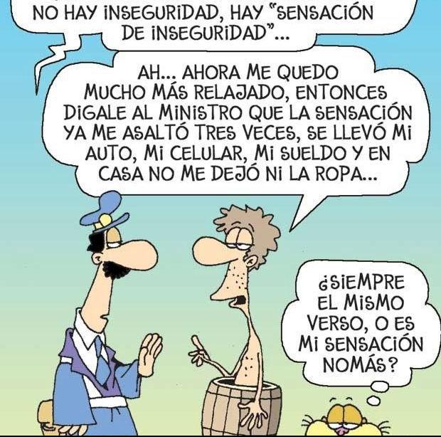 SENSACIÓN DE INSEGURIDAD